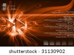 illustration of forward symbol | Shutterstock . vector #31130902