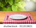 plate. | Shutterstock . vector #311313821