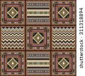 geometrical abstract pattern... | Shutterstock . vector #311318894