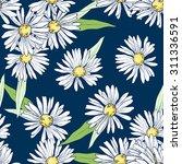 wildflowers. vector seamless...   Shutterstock .eps vector #311336591