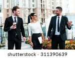 quick briefing before meeting.... | Shutterstock . vector #311390639