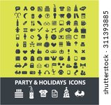 celebration  party  holidays ... | Shutterstock .eps vector #311393885