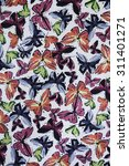 texture fabric of butterfly for ... | Shutterstock . vector #311401271