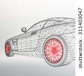 3d Car Model. Sports Car. The...