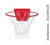 basketball backboard  vector...   Shutterstock .eps vector #311405135