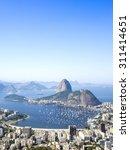 sugarloaf mountain in rio de... | Shutterstock . vector #311414651