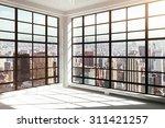 empty white modern interior | Shutterstock . vector #311421257