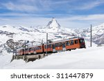 Zermatt  Switzerland  The Trai...