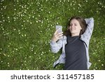 high angle view of a young... | Shutterstock . vector #311457185