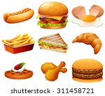 different kind of fastfood