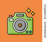 camera icon | Shutterstock .eps vector #311460521