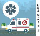 health care digital design ... | Shutterstock .eps vector #311461079