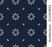 seamless pattern  japanese art  ... | Shutterstock .eps vector #311465831