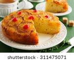 Upside Down Pineapple Cake Wit...