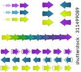 Colorful Paper Arrows ...