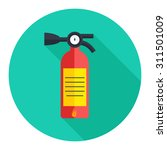 fire  extinguisher icon | Shutterstock .eps vector #311501009