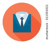 professional suit icon | Shutterstock .eps vector #311501021