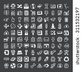 doodle web icons | Shutterstock .eps vector #311532197