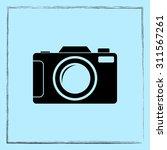 photo camera sign icon  vector... | Shutterstock .eps vector #311567261