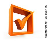 validation icon | Shutterstock .eps vector #31158445