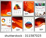 abstract vector backgrounds and ... | Shutterstock .eps vector #311587025