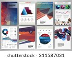 abstract vector backgrounds and ... | Shutterstock .eps vector #311587031