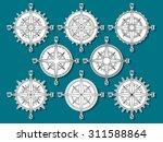 vector image set of variations...   Shutterstock .eps vector #311588864