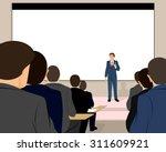 vector illustration of a... | Shutterstock .eps vector #311609921