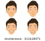 vector illustration of a four... | Shutterstock .eps vector #311618471