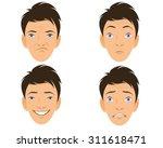 vector illustration of a four... | Shutterstock .eps vector #311618471