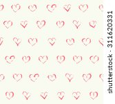 vector doodle seamless patterns.... | Shutterstock .eps vector #311620331