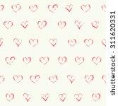 vector doodle seamless patterns.... | Shutterstock .eps vector #311620331
