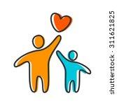 parent. template design for an... | Shutterstock .eps vector #311621825