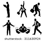 vector illustration of a six... | Shutterstock .eps vector #311630924