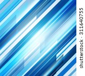 blue abstract straight lines...   Shutterstock .eps vector #311640755
