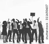 business people new york... | Shutterstock . vector #311650607