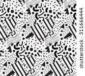seamless geometric pattern in...   Shutterstock .eps vector #311666444