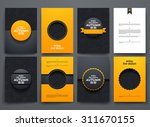 vector design brochures with... | Shutterstock .eps vector #311670155