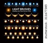 shining garland set for... | Shutterstock .eps vector #311677385