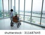 patient in hospital | Shutterstock . vector #311687645