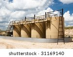 petroleum storage tanks in a... | Shutterstock . vector #31169140