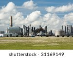 a refinery for producing... | Shutterstock . vector #31169149