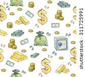 dollar sign. money symbols.... | Shutterstock . vector #311725991