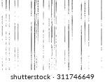 grunge lines texture | Shutterstock .eps vector #311746649