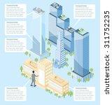 the door to the big city...   Shutterstock .eps vector #311752235