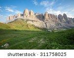 dolomites alps  italy   Shutterstock . vector #311758025