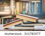 bookshelf  | Shutterstock . vector #311782577