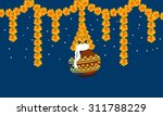 krishna janmashtmi | Shutterstock .eps vector #311788229
