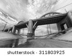 6th street bridge and los... | Shutterstock . vector #311803925