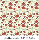 vector seamless pattern with... | Shutterstock .eps vector #311814635